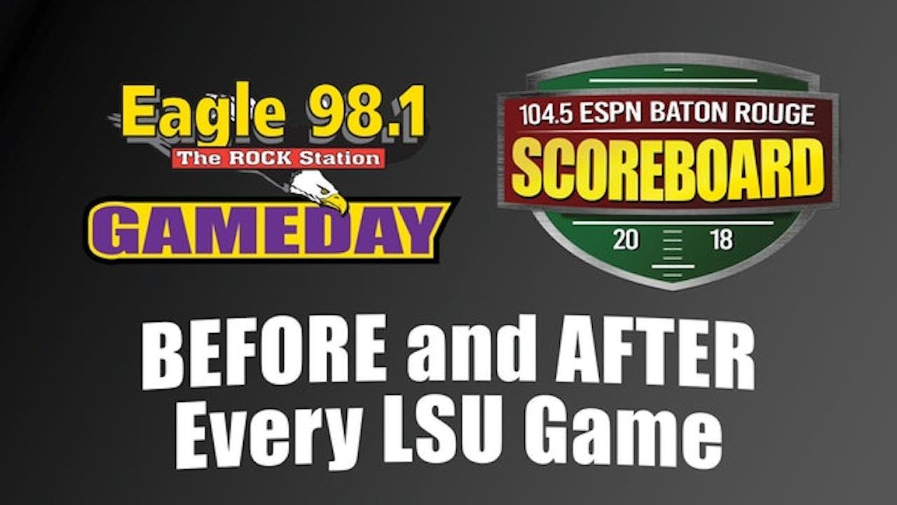 Gameday & Scoreboard: Post Game