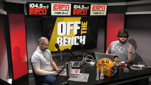 Off The Bench - September 19, 2018