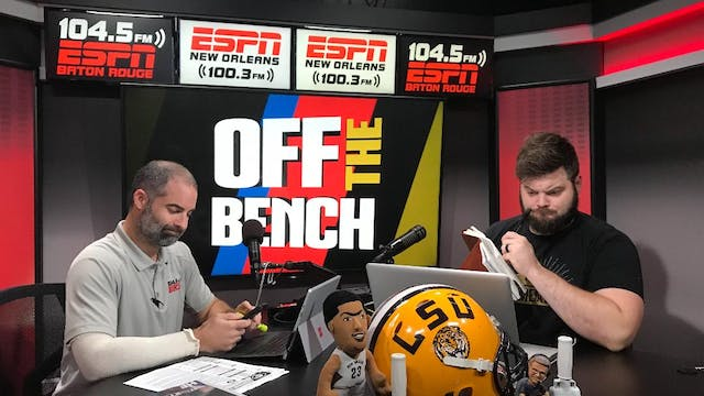 Off the Bench - October 9, 2018