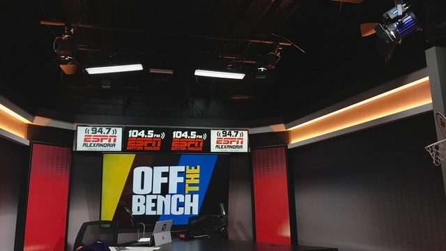 Off The Bench - April 3, 2019