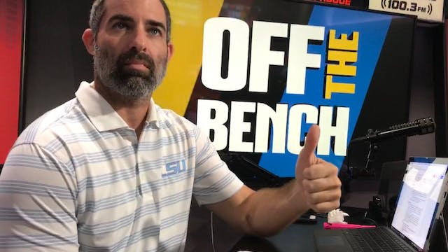 Off The Bench - September 14, 2018