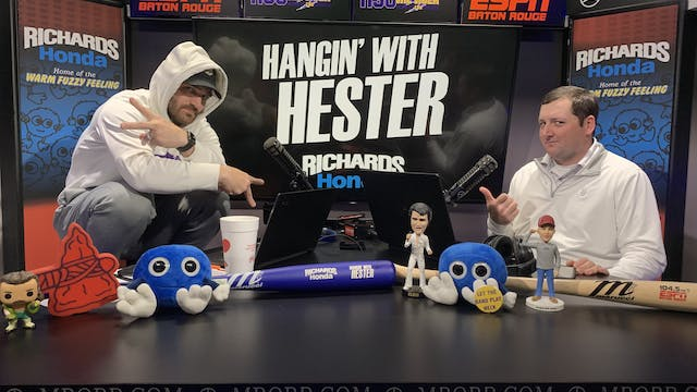 Hangin' with Hester - December 12, 2019