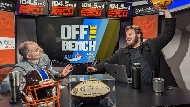 Off The Bench - January 30, 2020