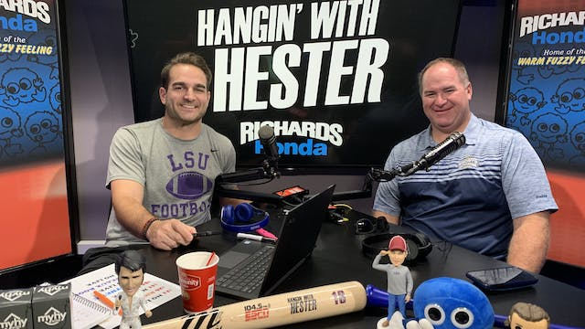 Hangin' with Hester - August 23, 2019