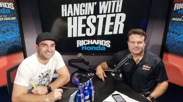 Hangin' with Hester - August 16 2018