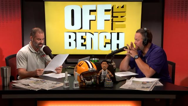 Off The Bench - August 24, 2018
