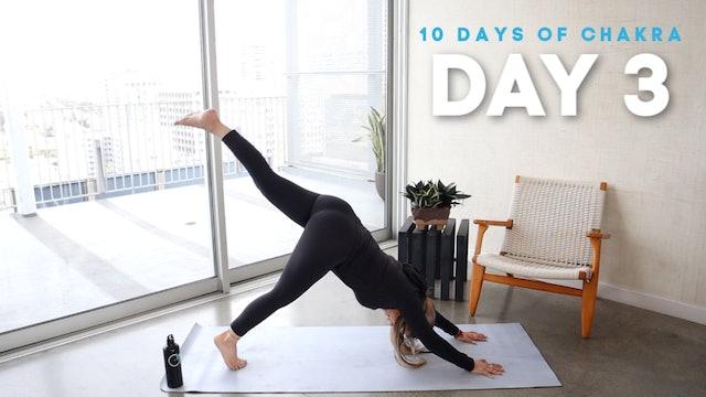 10 Days of Chakra: Day 3
