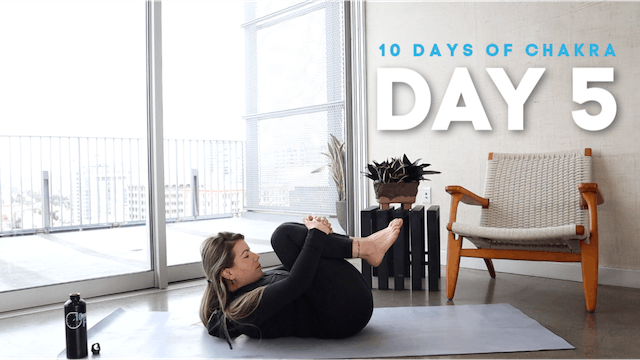 10 Days of Chakra: Day 5