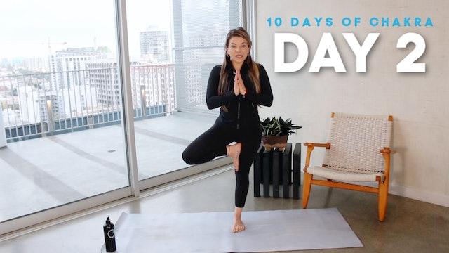 10 Days of Chakra: Day 2