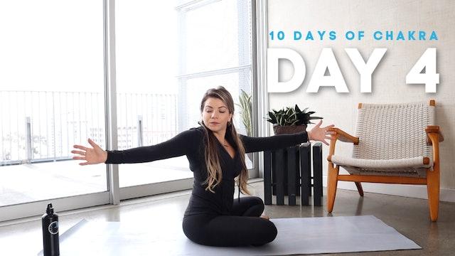 10 Days of Chakra: Day 4