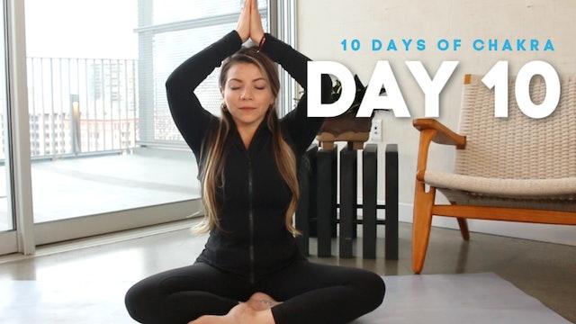 10 Days of Chakra: Day 10