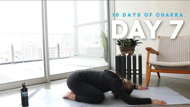 10 Days of Chakra: Day 7