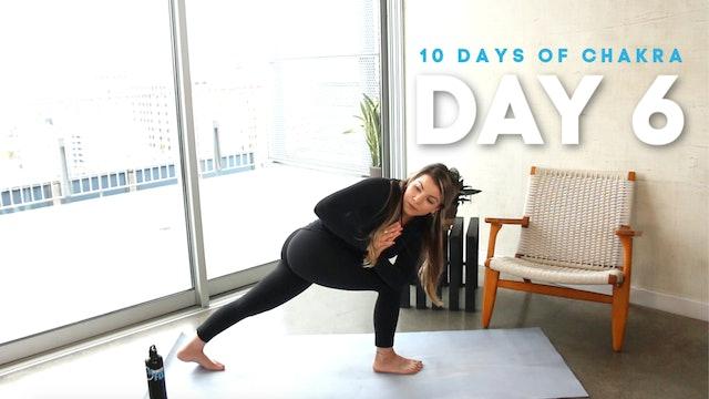 10 Days of Chakra: Day 6