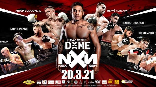 Boxing NXX - Dôme de Charleroi