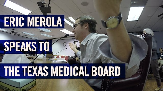 (2017) Eric Merola speaks to the Texa...