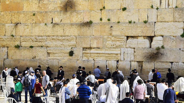 The Sound of Trumpets - Wailing Wall