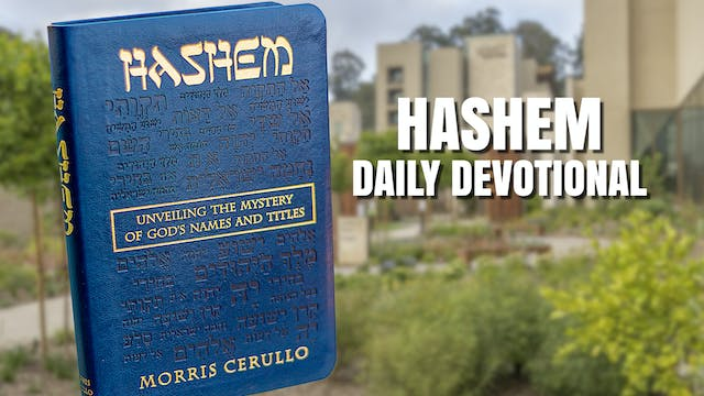 HaShem Reading - April 30th