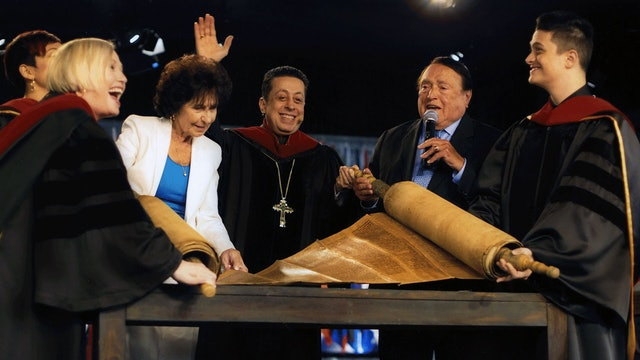 A Legacy Gift - 350 year old Torah