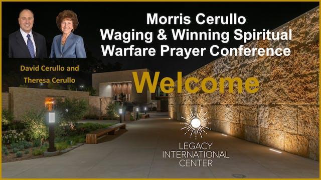 Morris Cerullo Spiritual Warfare Prayer Conference
