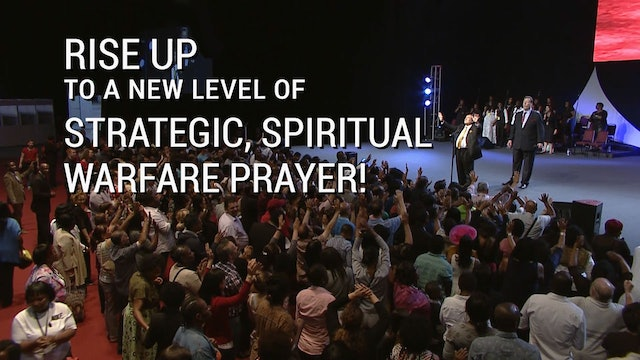 Your New Level of Strategic Spiritual Warfare Prayer!