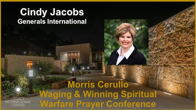 Cindy Jacobs: Breaking The Spirit Of Delay Over Your Destiny!