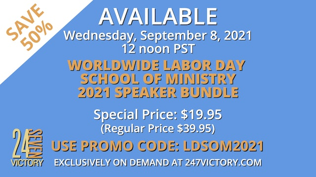 Worldwide Labor Day School of Ministry 2021