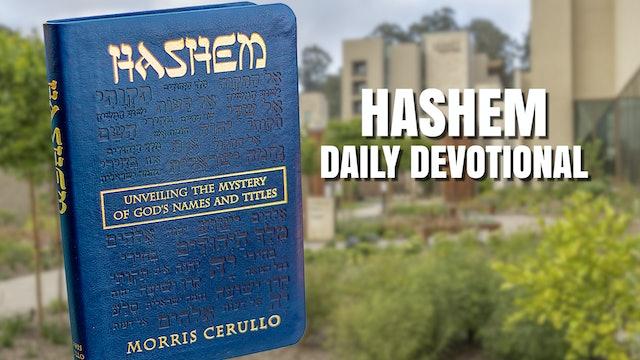 HaShem Reading - May 18th