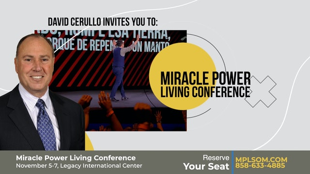 Miracle Power Conference at Legacy!