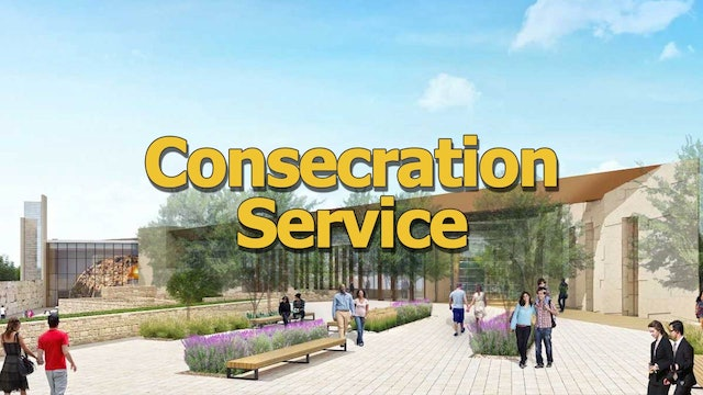 Consecration Service for the Legacy Center