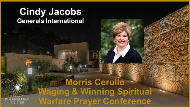 Cindy Jacobs   Morris Cerullo Spiritual Warfare Prayer Conference