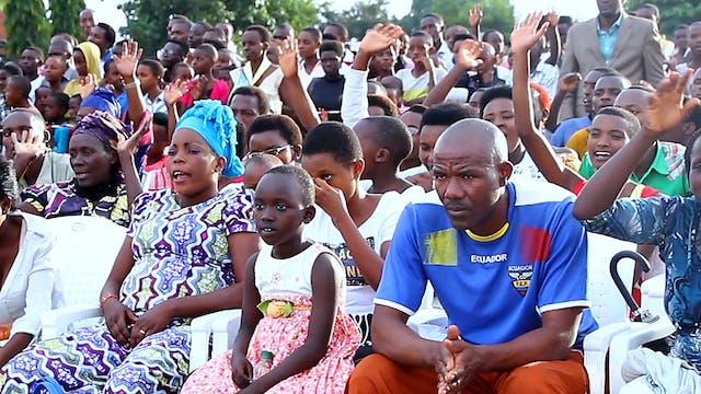 Message du salut - Bujumbura, Burundi