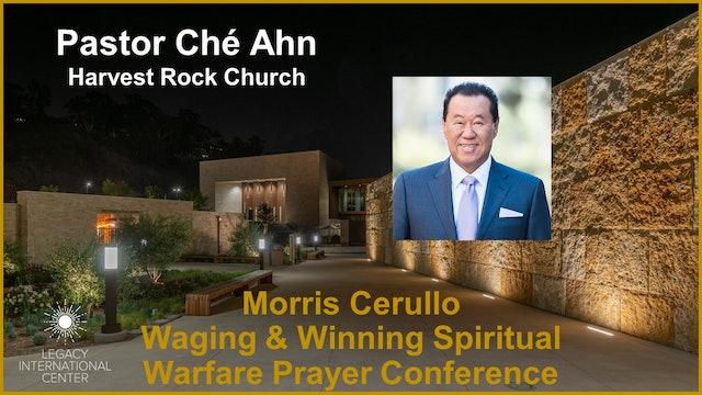 Che Ahn   Morris Cerullo Spiritual Warfare Prayer Conference