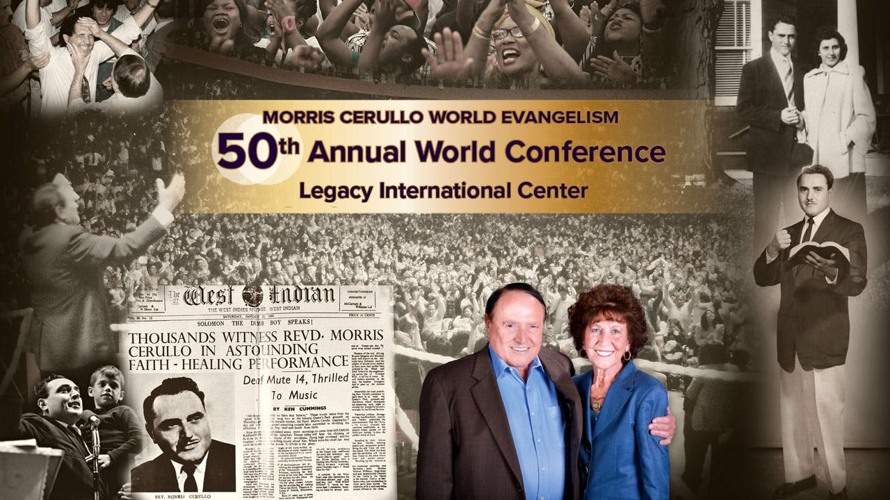 Morris Cerullo's 50th Anniversary World Conference