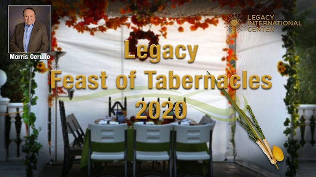 Feast of Tabernacles - Thursday Morning Anointing Service