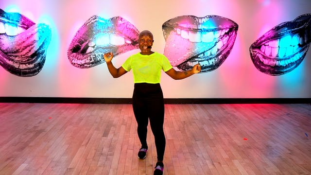 55-min Advanced Cardio w/Dionne