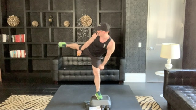 Kickboxing 45 with Peyton, August 2020