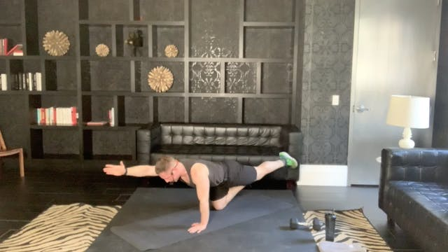 Pilates 30 with Peyton, March 2021