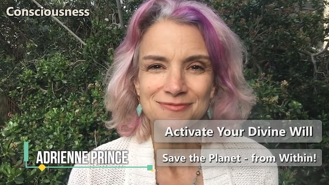 Activate Your Divine Will - With Adrienne Prince