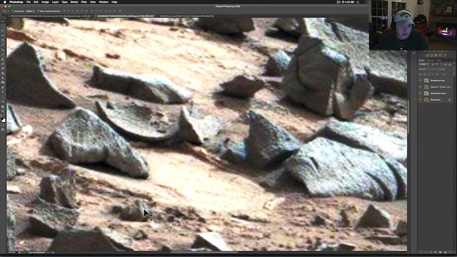 Demolished Statues & Ornate Artifacts Imaged By NASA On Mars