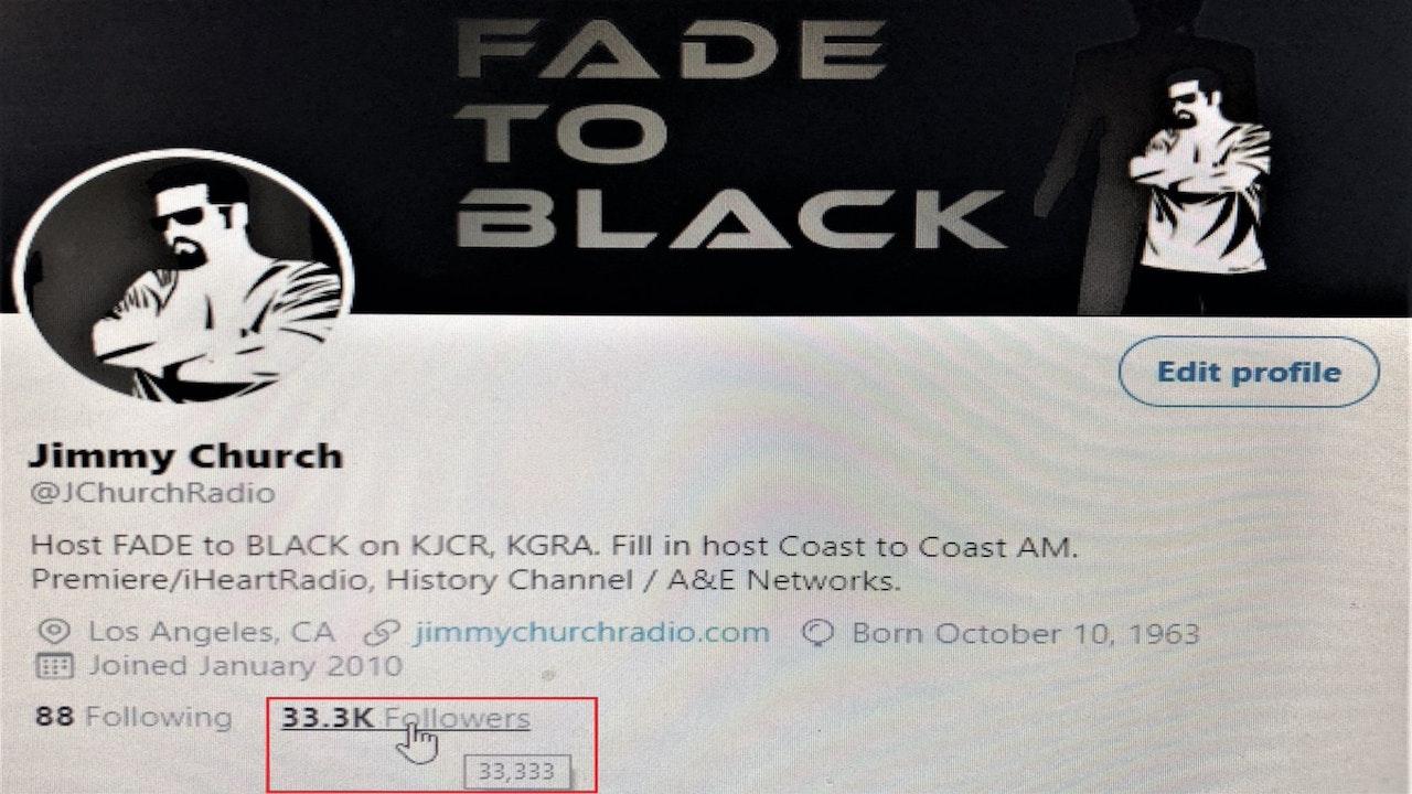 Jimmy Church - Fade To Black