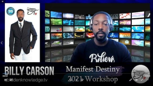 Manifest Destiny 2021 - Workshop by B...