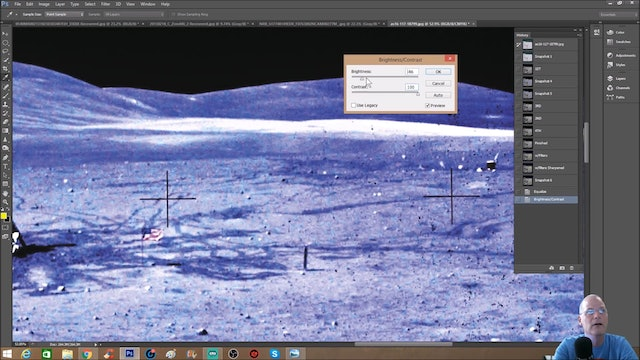 Alien Structures Uncovered In Apollo 16 Photo!