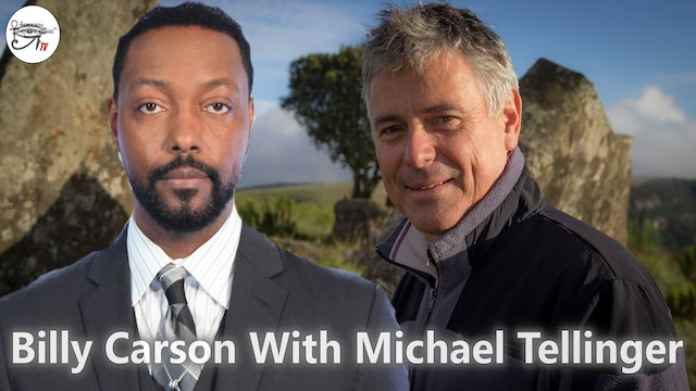Billy Carson With Author and Antropologist Michael Tellinger