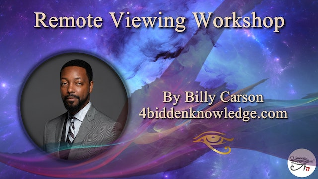 Remote Viewing Workshop Introduction