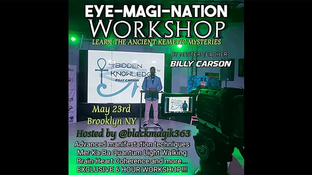 EYE-MAGI-NATION WORKSHOP