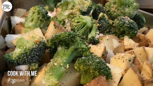 Angelee Cooks - Potato Salad