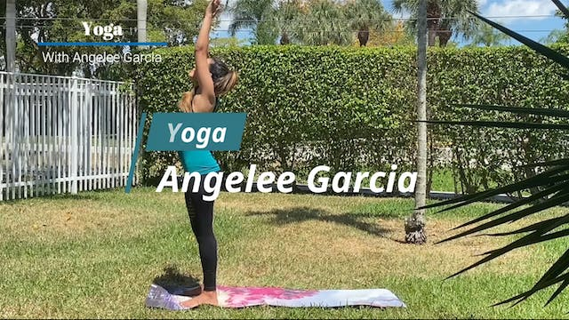 Yoga With Angelee Garcia