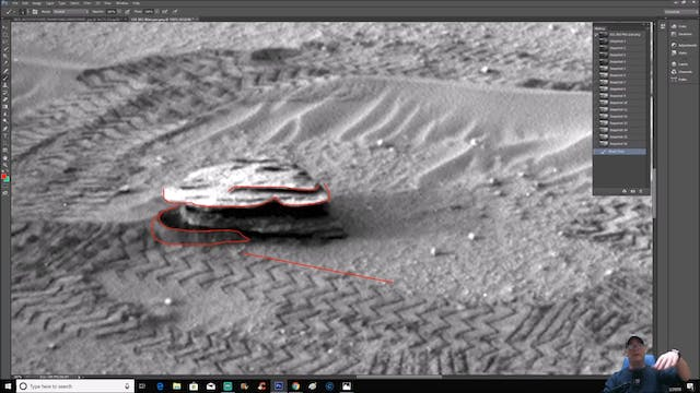 Martian Ruins Buried In The Sands Of ...