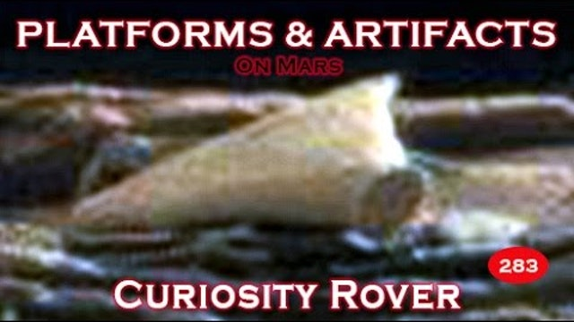 Artifacts, Platforms & More Imaged By NASA's Curiosity Rover.