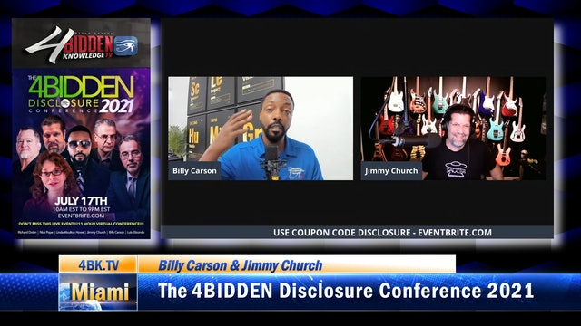 The 4BIDDEN Disclosure Conference 2021 (Jimmy Church's Best Of The Best)
